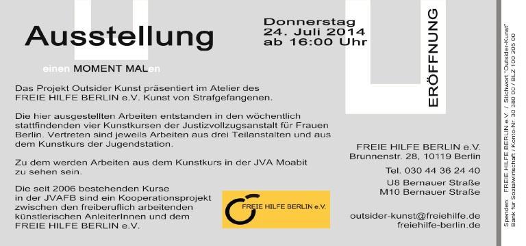 Ausstellung FREIE HILFE BERLIN e.V. b