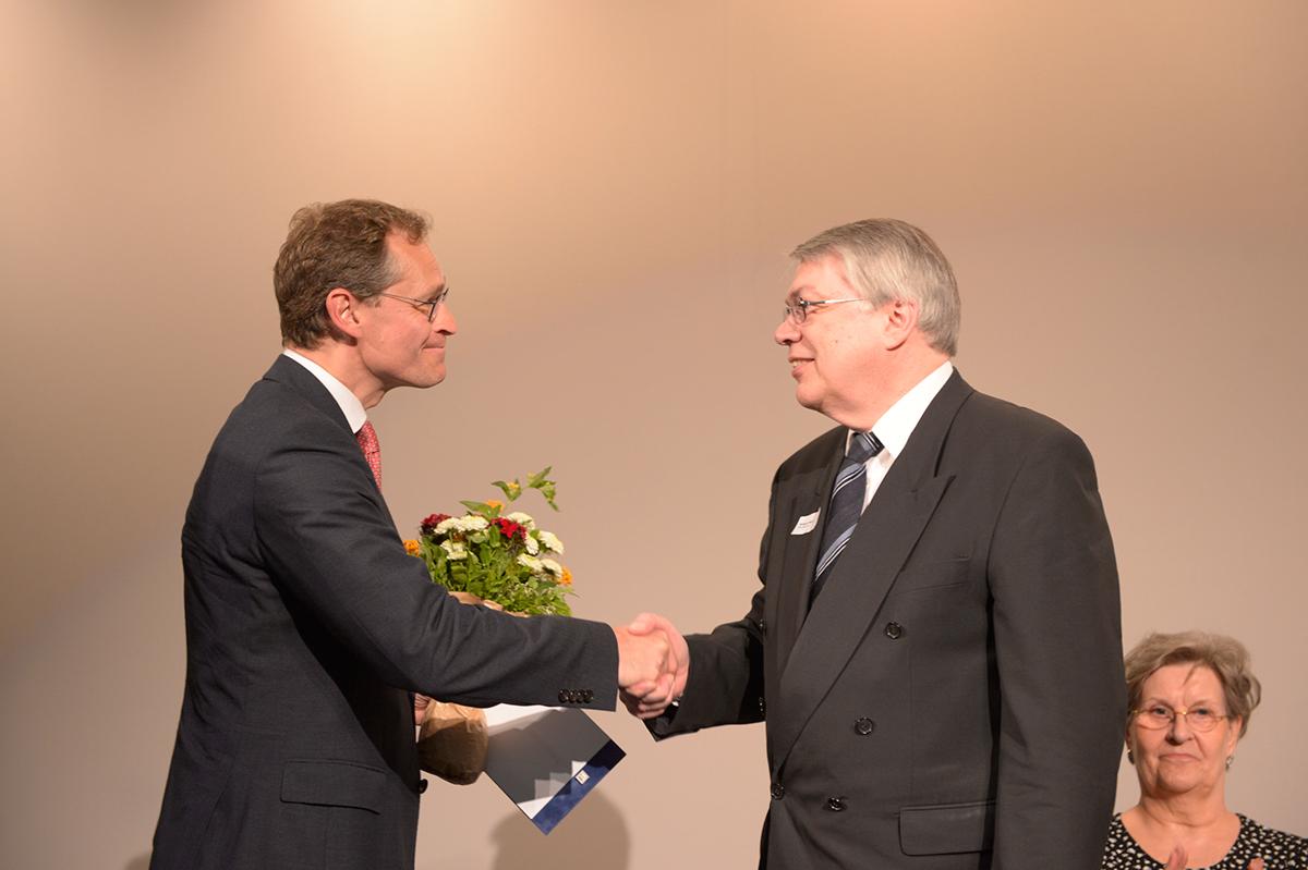 Auszeichnung mit der Paritätischen Ehrennadel in Silber